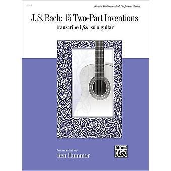15 TwoPart Inventions av kompositören Johann Sebastian Bach & By composer Ken Hummer