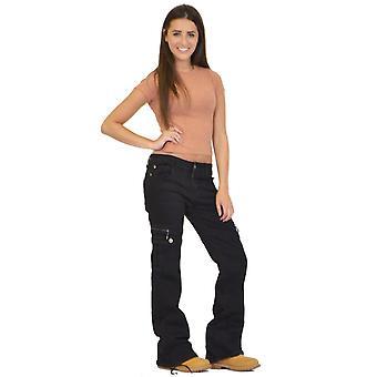 De bestrijding van de Wide Leg Denim Cargo broek Jeans