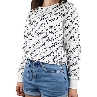 Harry Potter I Do Solemnly Swear Womens/Ladies Cropped Jumper