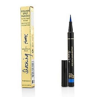 Yves Saint Laurent Eyeliner Effet Faux Cils schockierend (fett Filz Tip Eyeliner Pen) - 2 Majorelle blau 1ml/0,03 Unzen