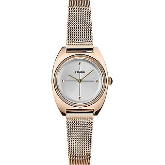 Timex Milano Petite Rose Gold-Tone Mesh Ladies Watch TW2T37800