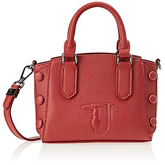 Trussardi Jeans 75B00545-9Y099999 Women's Cross Bag (Bordeaux On Tone) 18x13x9 cm (W x H x L)
