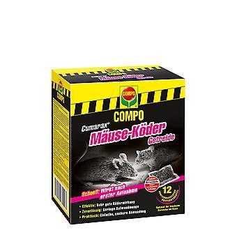 COMPO Cumarax® möss bete spannmål, 120 g