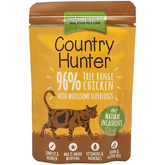 Natures Menu Hunter Country Cat Pouch Chicken & Heart 85 gr (Cats , Cat Food , Wet Food)