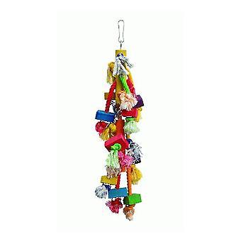 Corda de brinquedo Sandimas e blocos (aves, brinquedos)