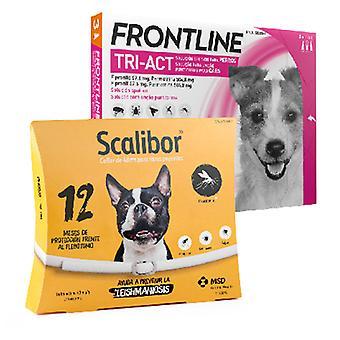 Frontline Tri Act Kleine Rasse + Scalibor