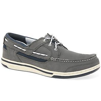 Sebago Triton 3 Eye Mens Casual Boat Shoes
