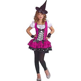 Süße Hexe Kleinkind Kostüm