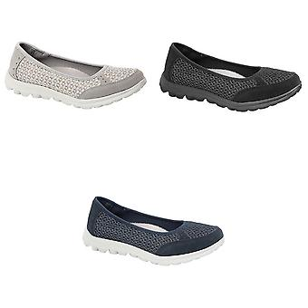 Boulevard Womens/Ladies Slip On Memory Foam Shoes