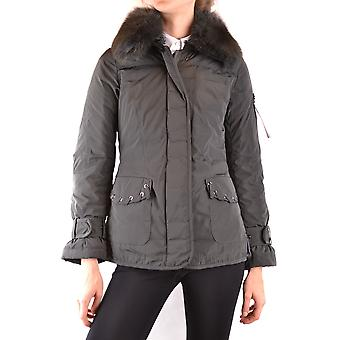 Peuterey Ezbc017123 Women's Green Nylon Outerwear Jacket