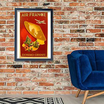 Air France Extremo Oriente Poster Print Giclee