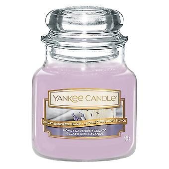 Yankee Candle Classic Small Jar Honey Lavender Gelato