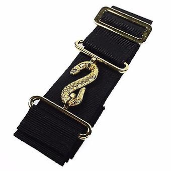 Masonic belt extender black