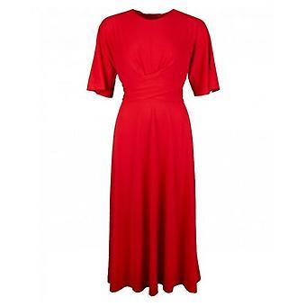 Ted Baker Kreuz über Wrap Midi Kleid