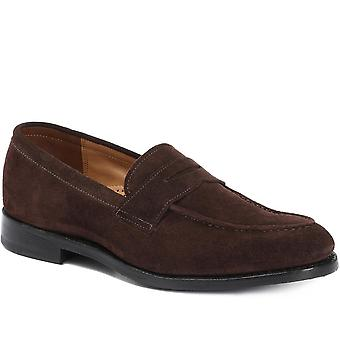 Jones Bootmaker Mens Goodyear Welted Leather Penny Loafer