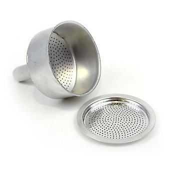 Filter for italiensk kaffetrakter privilegium aluminium /9 kopper