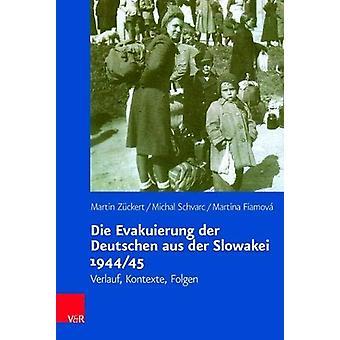 Die Evakuierung der Deutschen aus der Slowakei 1944/45 - Verlauf - Kon