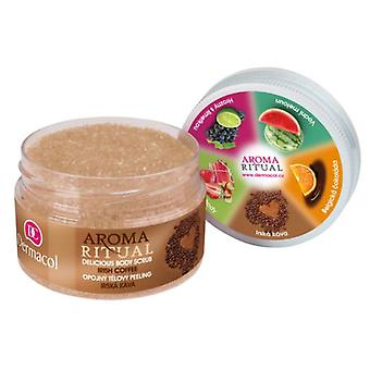Dermacol  Aroma Ritual Delicious Body Scrub - Irish Coffee
