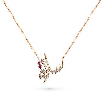 Necklace Sara 18K Gold and Diamonds