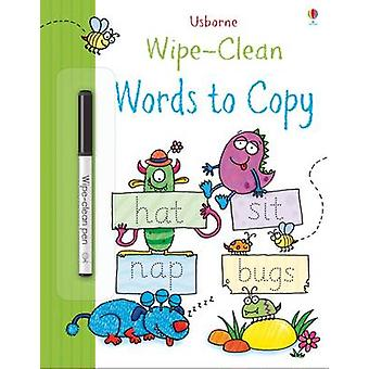 WipeClean Words to Copy by Jessica Greenwell