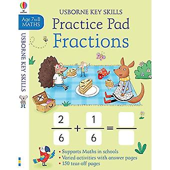 Fractions Practice Pad 7-8 by Simon Tudhope - 9781474937665 Book