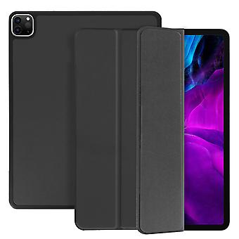 Trifold flip stand case for Apple iPad Pro 12.9 2020 / 2018 slim cover - Grey
