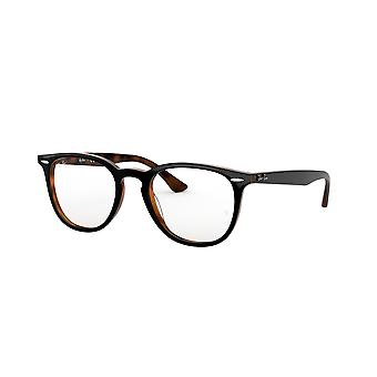 Ray-Ban RB7159 5909 Top Grey On Havana Glasses