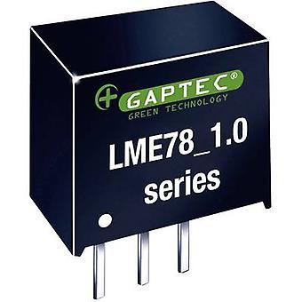 Gaptec LME78_03-1.0 DC/DC converter (print) 24 V DC 3.3 V DC 1000 mA 3.3 W No. van de uitgangen: 1 x