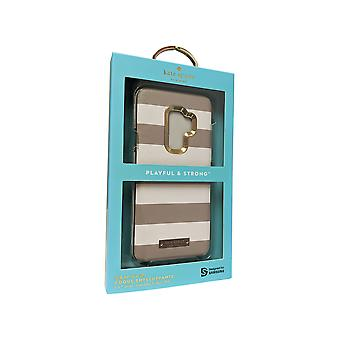 Kate Spade Saffiano Leather Wrap Case for Galaxy S9 Plus - Clocktower Cement