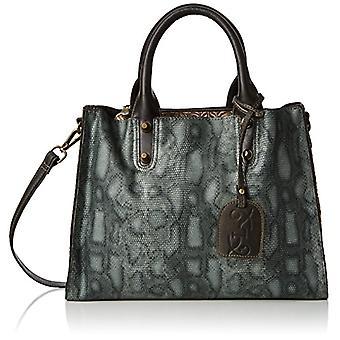 Laura Vita Caracas-anna 12 - Tote Bags Donna Silber (Gris) 13x24x40 cm (B x H T)