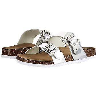 Madden Girl Womens Brando Open Toe Casual Slide Sandals
