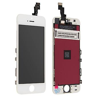 LCD replacement part with touchscreen for Apple iPhone SE - White