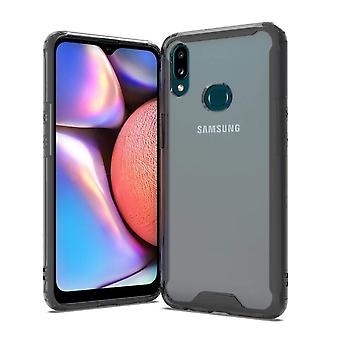 Shock resistant shell Samsung Galaxy A10S - transparent/black
