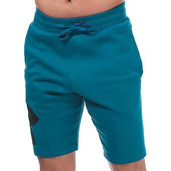 Under armour men's teal fleece shorts