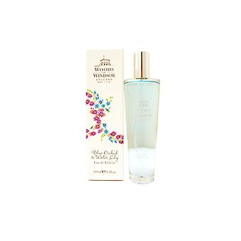 Woods Of Windsor Blue Orchid & Water Lily Eau de Toilette 100ml Spray For Her