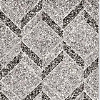 3&x5' מכונה אפורה ארוגה UV טופל הרינגבון אשליה בתוך שטח חיצוני שטיח