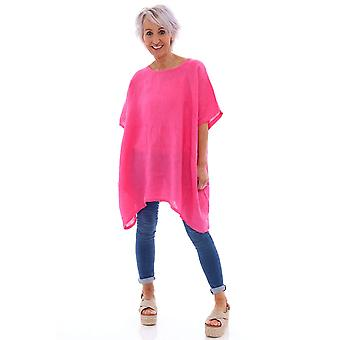 Made In Italy Barmouth Linen Tunic