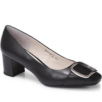 Staccato Womens Leather Court Shoe