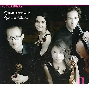 Alfama Quartet - Quartettsatz: Music by Britten, Webern, Wolf [CD] USA import