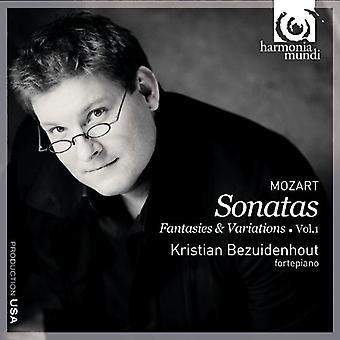W.a. Mozart - Mozart: Keyboard Music, Vol. 1 [CD] USA import