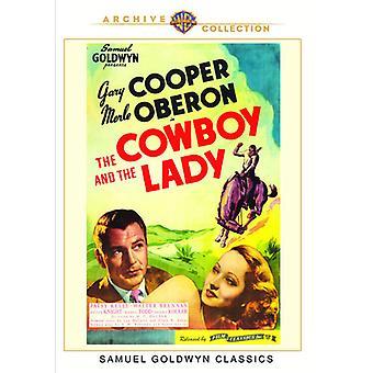 Cowboy & the Lady [DVD] USA import