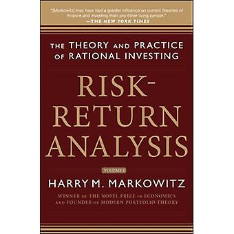 RiskReturn Analysis Volume 3 by Harry M Markowitz
