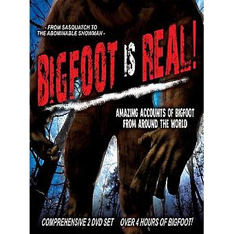 Bigfoot Is Real!: From Sasquatch to the [DVD] USA import