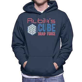 Rubik's Cube hersenen Force mannen Hooded Sweatshirt