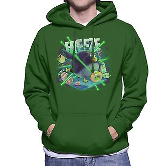 Angry Birds Freeze Men's Hooded Sweatshirt