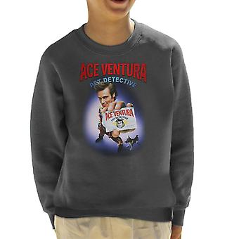 Ace Ventura Pet Detective ID Card Kid's Sweatshirt