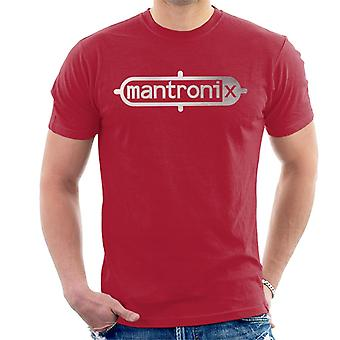 Mantronix Classic Silver Foil Logo Men's T-Shirt