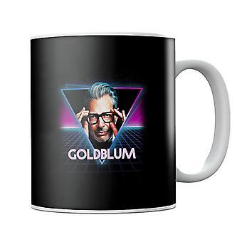 Jeff Goldblum Retro 80s Neon Landscape Mug