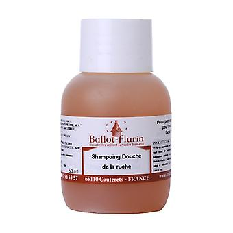Organic hive bath gel shampoo 50 ml