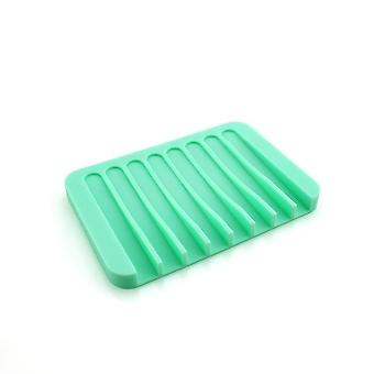 Flexible Soap Dishes Storage Holder - Soapbox Plate Tray For Bathroom